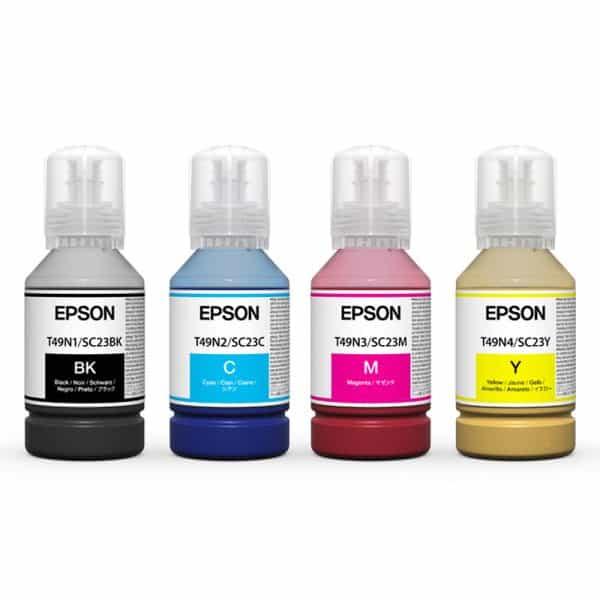 Epson SureColor SC F500 inks