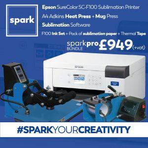 Spark Pro Epson SC F100 bundle