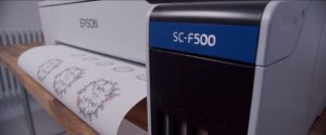 Parker and Eve Epson SC-f500 printing design