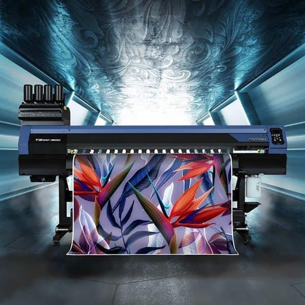 Mimaki TS100-1600 dye sub printer