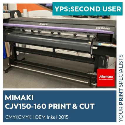 SM Second User Mimaki CJV150 160 Premier Graphics Durham